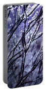 Purple Sunrise Portable Battery Charger