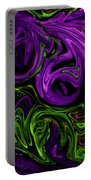 Purple Transformation Portable Battery Charger