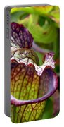 Purple Veins Portable Battery Charger