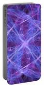 Purples Portable Battery Charger