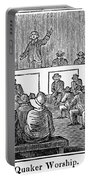 Quaker Worship, 1842 Portable Battery Charger