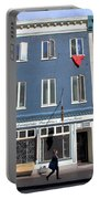 Quebec City Street View Portable Battery Charger