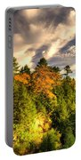 Quechee Gorge In The Fall  Portable Battery Charger