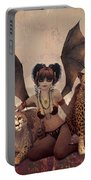 Queen Of Cats Portable Battery Charger