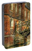 Queens' College And Mathematical Bridge Portable Battery Charger