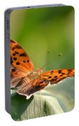 Question Mark Butterfly Portable Battery Charger