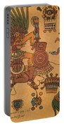 Quetzalcoatl, Aztec Feathered Serpent Portable Battery Charger