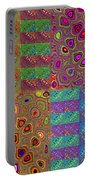 Quilted Fractals Portable Battery Charger