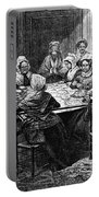 Quilting Party, 1864 Portable Battery Charger
