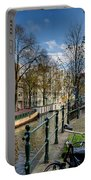 Raamgracht And Groenburgwal. Amsterdam Portable Battery Charger