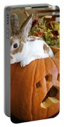 Rabbit Joins The Harvest Portable Battery Charger by Alanna DPhoto