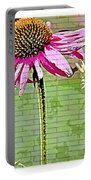 Racetrack Flower Portable Battery Charger