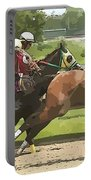 Racetrack Views Portable Battery Charger
