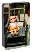 Rag Doll In Chair Portable Battery Charger