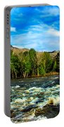 Raging River Portable Battery Charger by Robert Bales