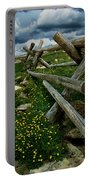 Rail Fence No.1812 Portable Battery Charger