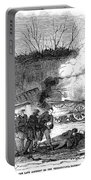 Railroad Accident, 1853 Portable Battery Charger