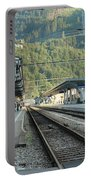 Railway Station West Interlaken Switzerland Portable Battery Charger
