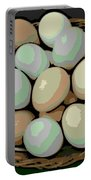 Rainbow Eggs Portable Battery Charger