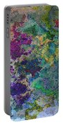Rainbow Fish Watercolor Abstract Art Portable Battery Charger