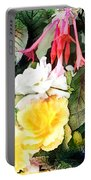 Rainbow Flower Basket Portable Battery Charger