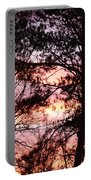 Rainbow Forest Portable Battery Charger