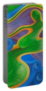 Rainbow Healing For Family Portable Battery Charger