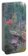 Rainbow Of The Season Portable Battery Charger by Heather Kirk