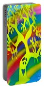 Rainbow Roots Portable Battery Charger