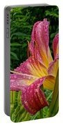 Raindrops On Lilly Portable Battery Charger
