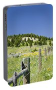 Rangeland Wild Flowers Portable Battery Charger