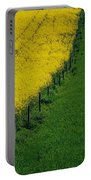 Rapeseed Growing In A Field, Ireland Portable Battery Charger