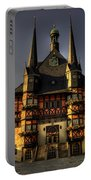 Rathaus At Wernigerode Portable Battery Charger