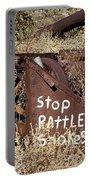 Rattlesnake Warning Portable Battery Charger