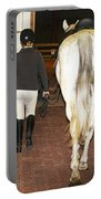 Ready For The Dressage Lesson Portable Battery Charger
