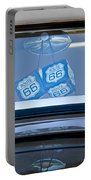Rear View Mirror Dice Portable Battery Charger