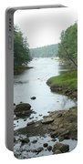 Receding Tide In Maine Part Of A Series Portable Battery Charger