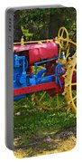 Red And Yellow Tractor Portable Battery Charger