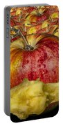 Red Apples And Core Portable Battery Charger
