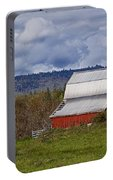 Red Barn With Tin Roof Portable Battery Charger