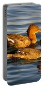 Red Breasted Mergansers Portable Battery Charger
