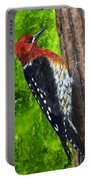 Red Breasted Sapsucker Portable Battery Charger