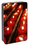 Red Candles Portable Battery Charger