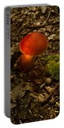 Red Caped Mushroom 4 Portable Battery Charger