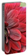 Red Carpet Dahlia Portable Battery Charger