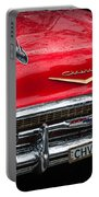 Red Chevvy Portable Battery Charger