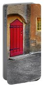 Red Door And Yellow Windows Portable Battery Charger