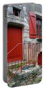 Red Door In Laroche Bernard Portable Battery Charger