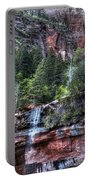 Red Falls Portable Battery Charger