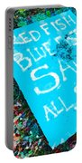 Red Fish Blue Fish Sale Portable Battery Charger